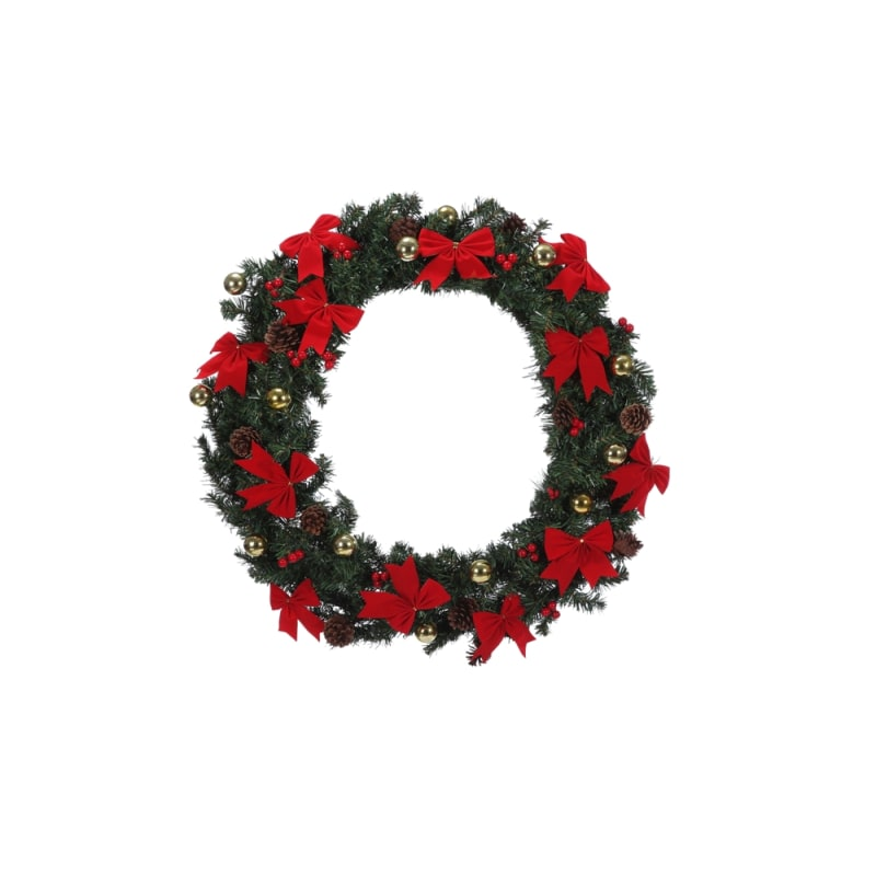 Homegear 60cm Christmas Wreath