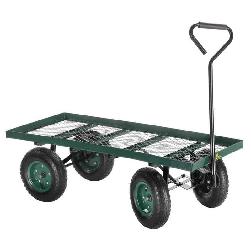 Palm Springs Flatbed Garden Trolley / Wheelbarrow