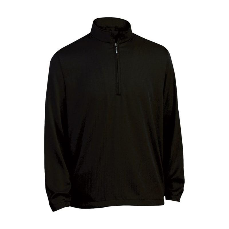 Ashworth Mens Herringbone Long Sleeve Windshirt