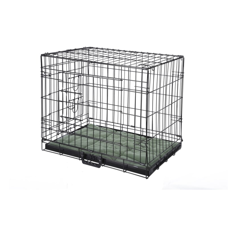EX-DEMO HQ Pet Dog Crate with Bed - Medium