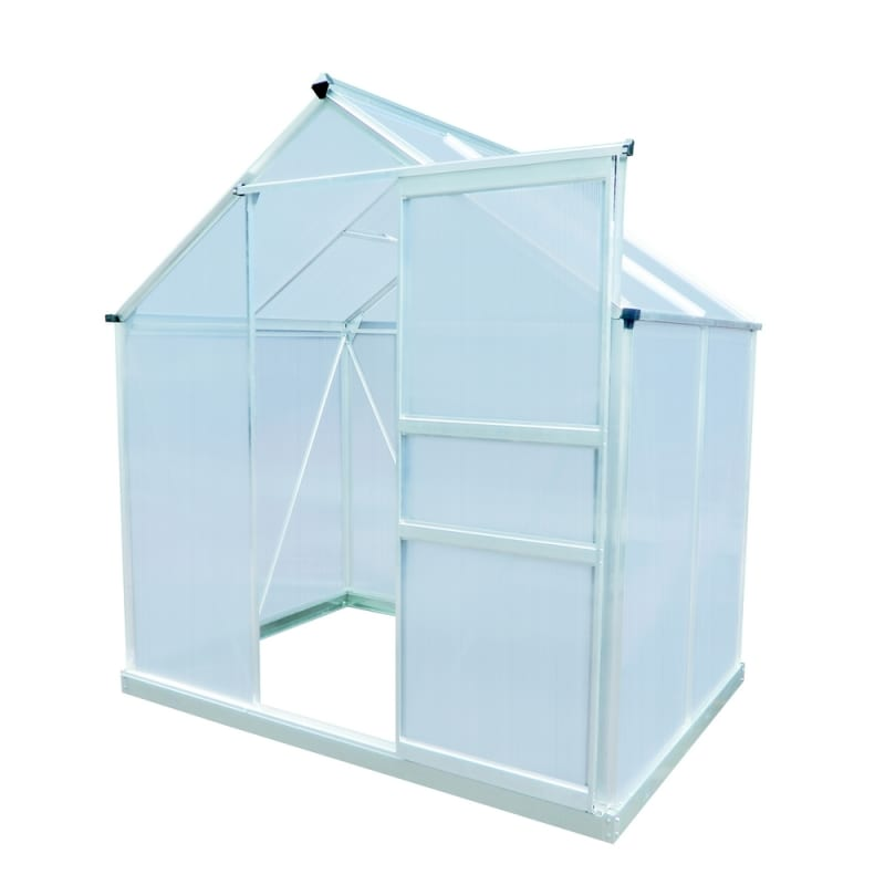 Palm Springs 6ft x 4ft Aluminum Greenhouse