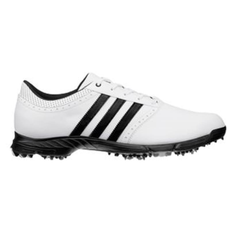 Adidas GolfLite 5 WD Golf Shoes- White / Black