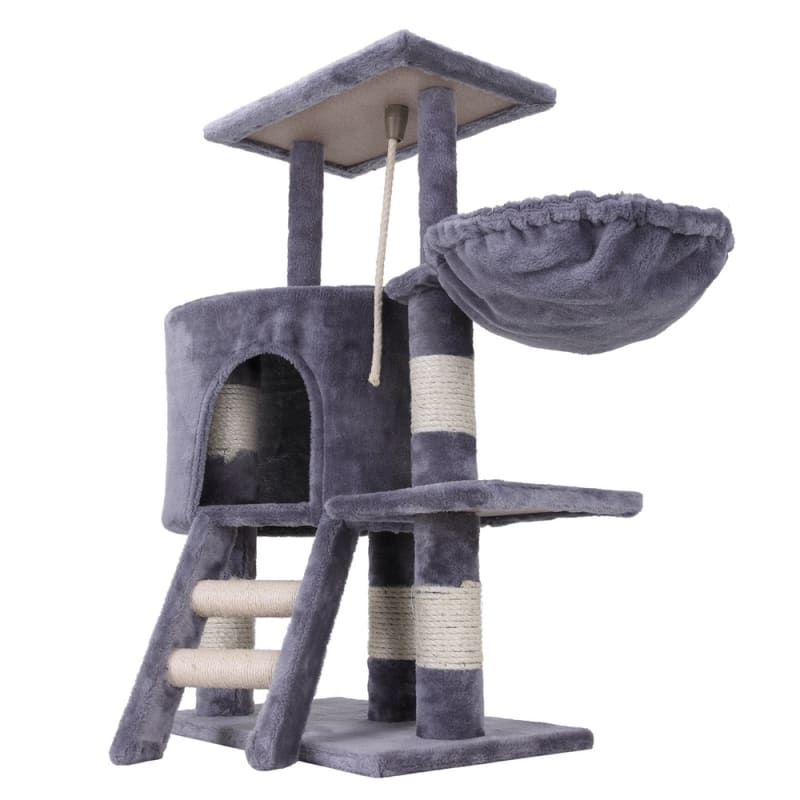 Confidence Pet Deluxe Cat Tree - Grey