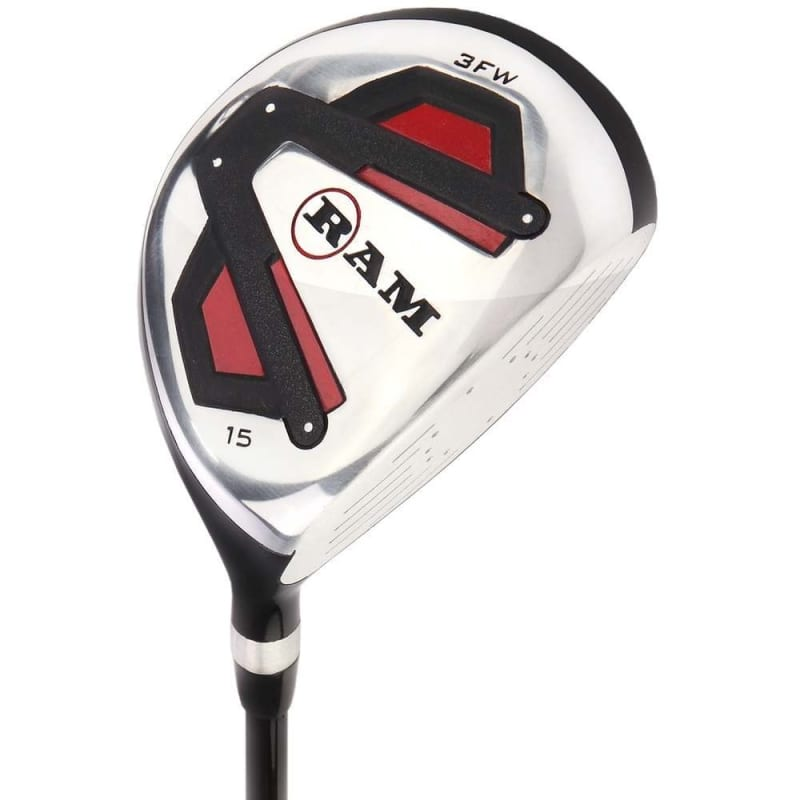 Ram Golf Accubar 12pc Golf Clubs Set - Graphite Shafted Woods, Steel Shafted Irons - Mens Right Hand #1