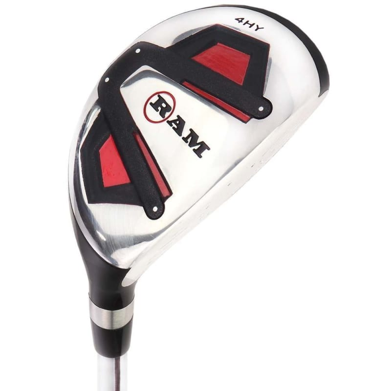 Ram Golf Accubar 1 Inch Longer Golf Clubs Set - Graphite Shafted Woods, Steel Shafted Irons - Mens Right Hand #3