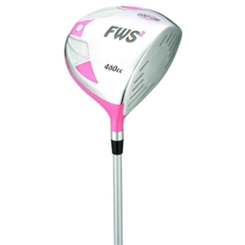 GolfGirl FWS2 Golf Clubs Package Set + Bag Pink - Left Hand #