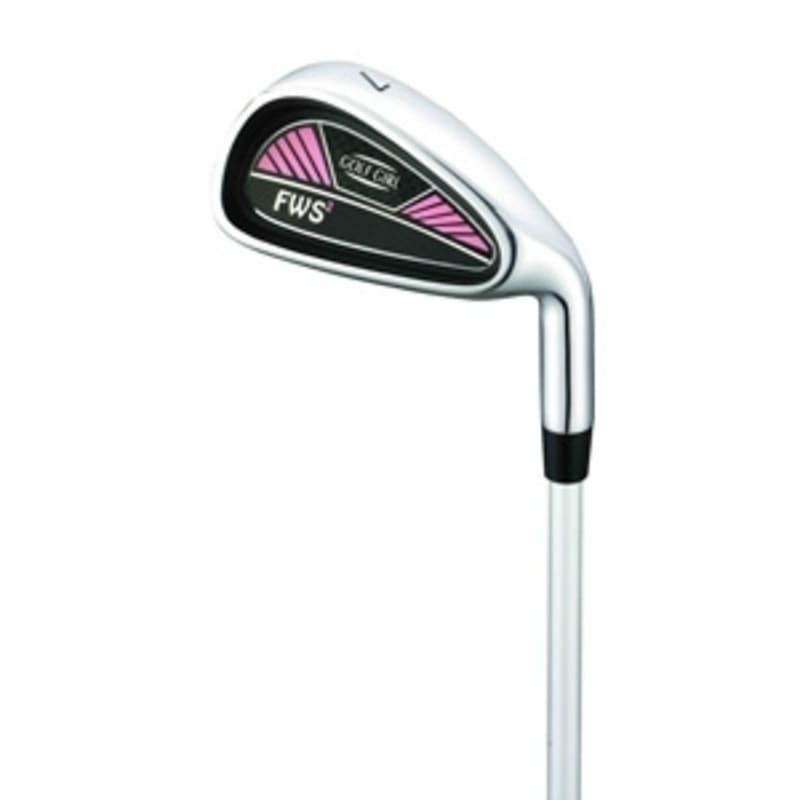 GolfGirl FWS2 Golf Clubs Package Set + Bag Pink - Left Hand #2