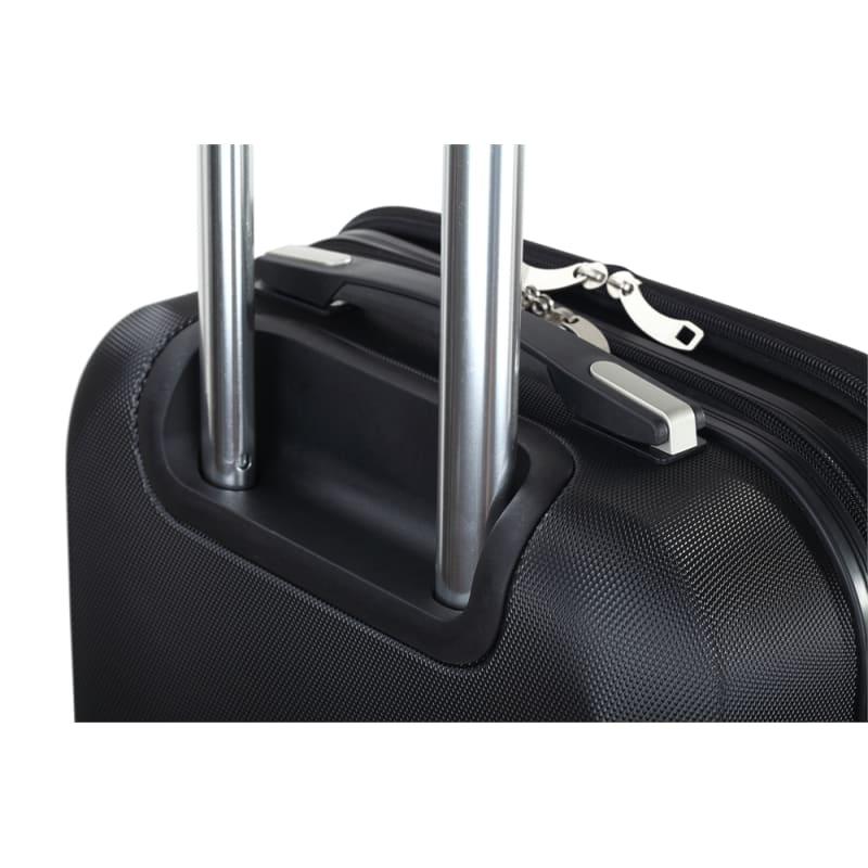 "OPEN BOX Swiss Case 20"" ABS 4W Suitcase Zip Pocket #2"