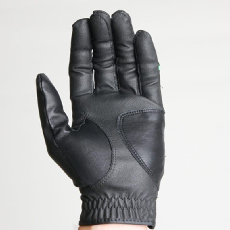 2 Forgan of St Andrews MENS AW Left Hand Golf Gloves Black #