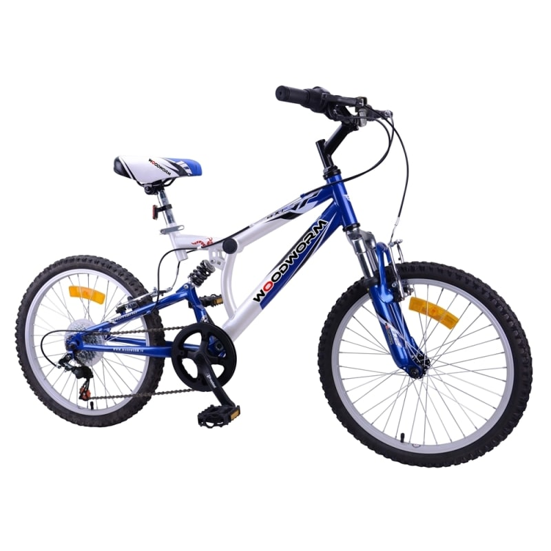 "Woodworm Kids BXI Junior 20"" Mountain Bike Blue"