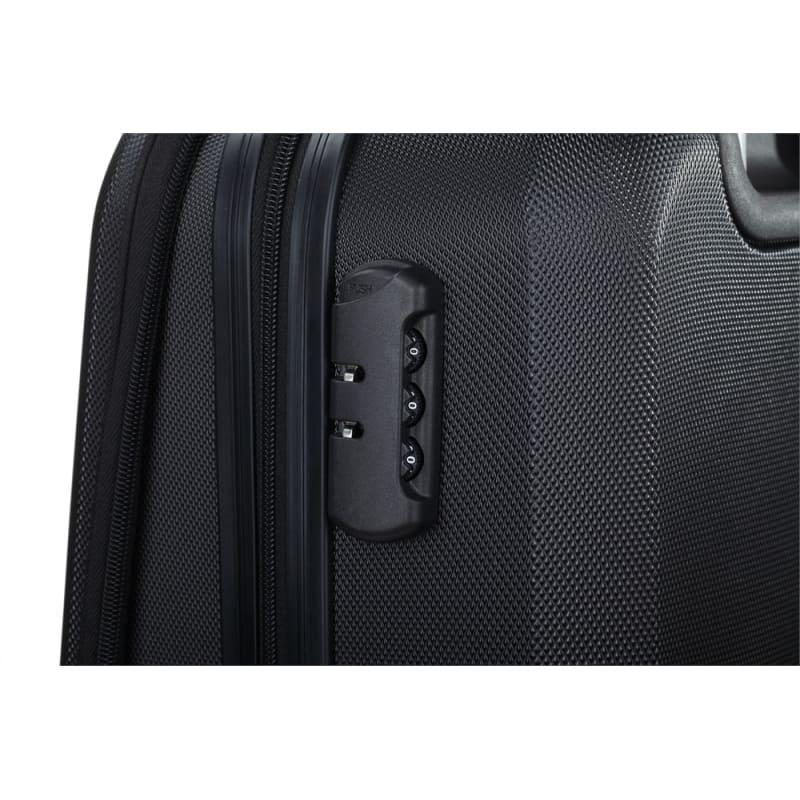 "OPEN BOX Swiss Case 20"" ABS 4W Suitcase Zip Pocket #3"