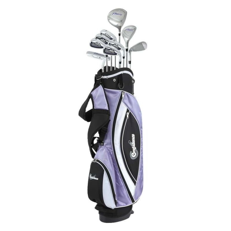 EX-DEMO Confidence Golf Lady Power V3 Club Set & Stand Bag