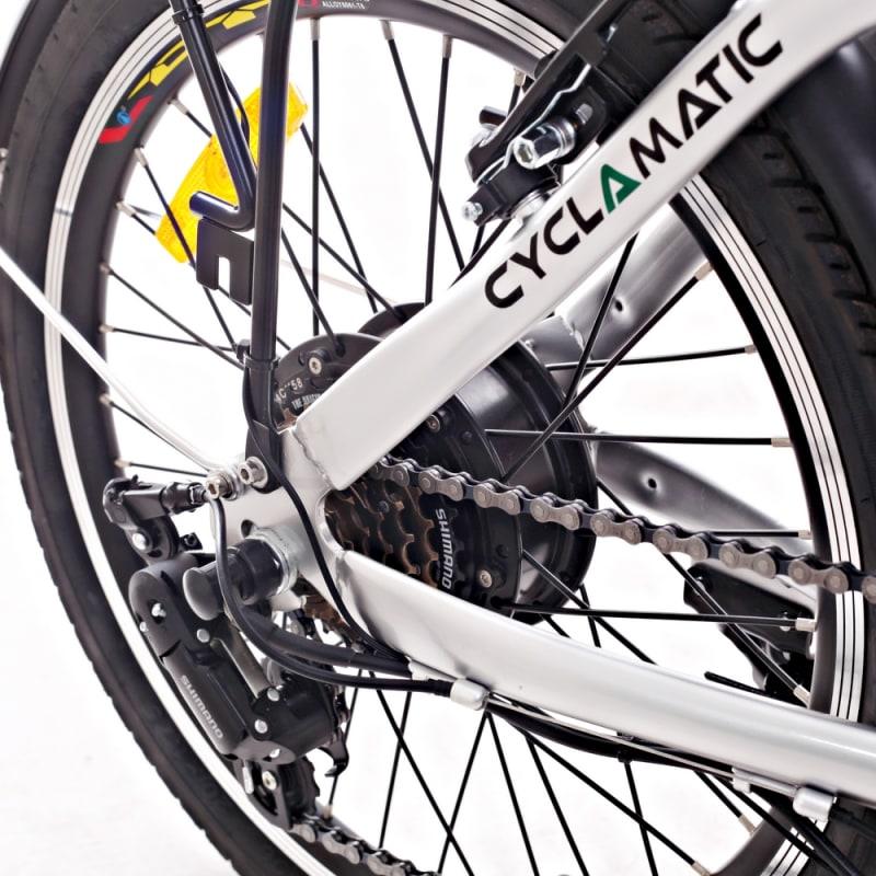 Cyclamatic CX2 Folding Electric Bike #3