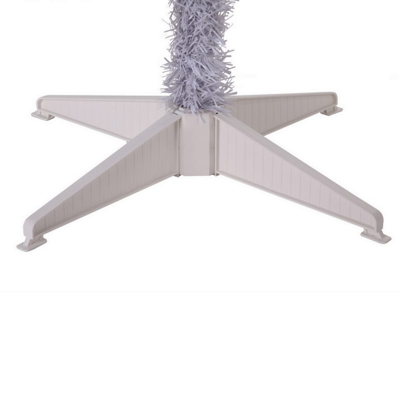 Homegear 6FT Artificial White Christmas Tree #8