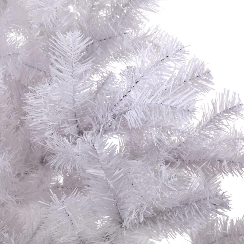 OPEN BOX Homegear 6ft White Artificial Xmas Tree #5