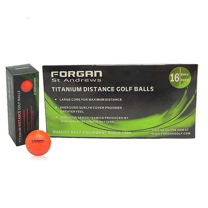 Forgan St Andrews TT 16 Golf Balls #1
