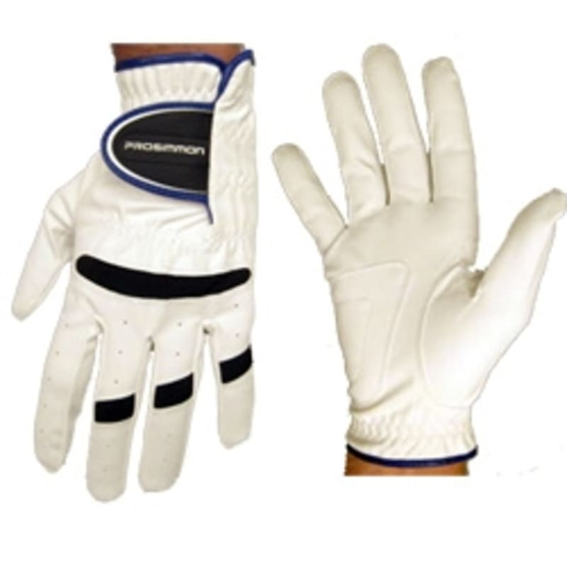 Prosimmon Mens All-Weather Right Hand Golf Gloves White #