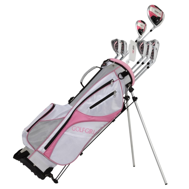 GolfGirl FWS3 Ladies Complete All Graphite Petite Golf Clubs Set with Stand Bag