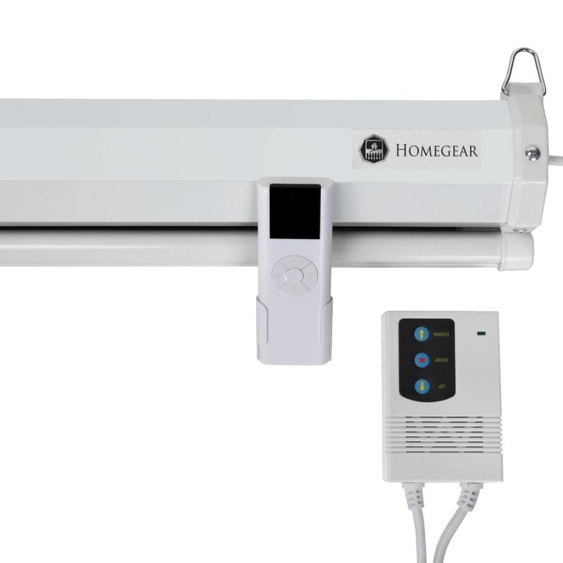 """Homegear 110"""" HD Motorized 16:9 Projector Screen #5"""