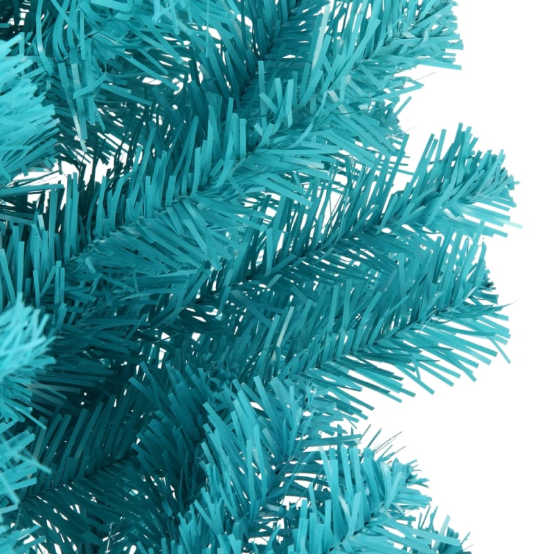 OPEN BOX Homegear 6FT Artificial Turquoise Christmas Tree #2