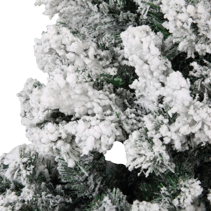 Homegear 7.5ft Artificial Snow Dusted Christmas Tree 1250 tips with Metal Stand and Hinged Branches #1