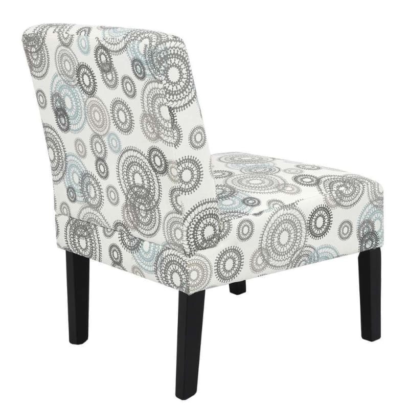 Homegear Home Furniture Accent Armless Chair - Contemporary Designs - Mechanical Gears #3