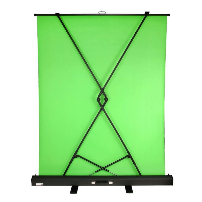 Homegear Portable/Collapsible Pull Up Green Screen V2 Video Photography Background 5ft x 6ft #1