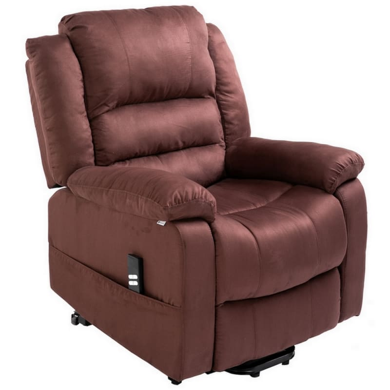 Super Homegear Microfiber Dual Motor Power Lift Electric Recliner Chair With Remote Chocolate Gmtry Best Dining Table And Chair Ideas Images Gmtryco