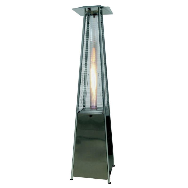 Open Box Palm Springs Pyramid Quartz Glass Tube Flame