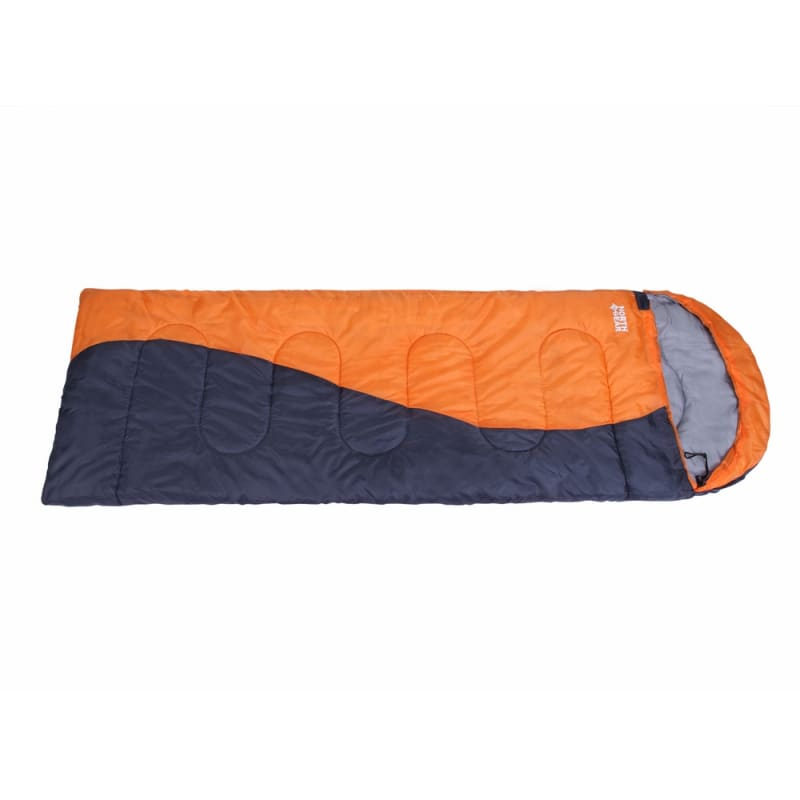 North Gear Camping Envelope Sleeping Bag With Hood #