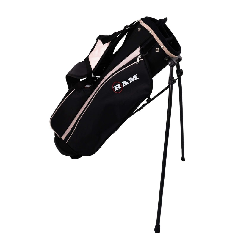 Ram Golf SGS Ladies Golf Clubs Set with Stand Bag - Steel Shafts #4