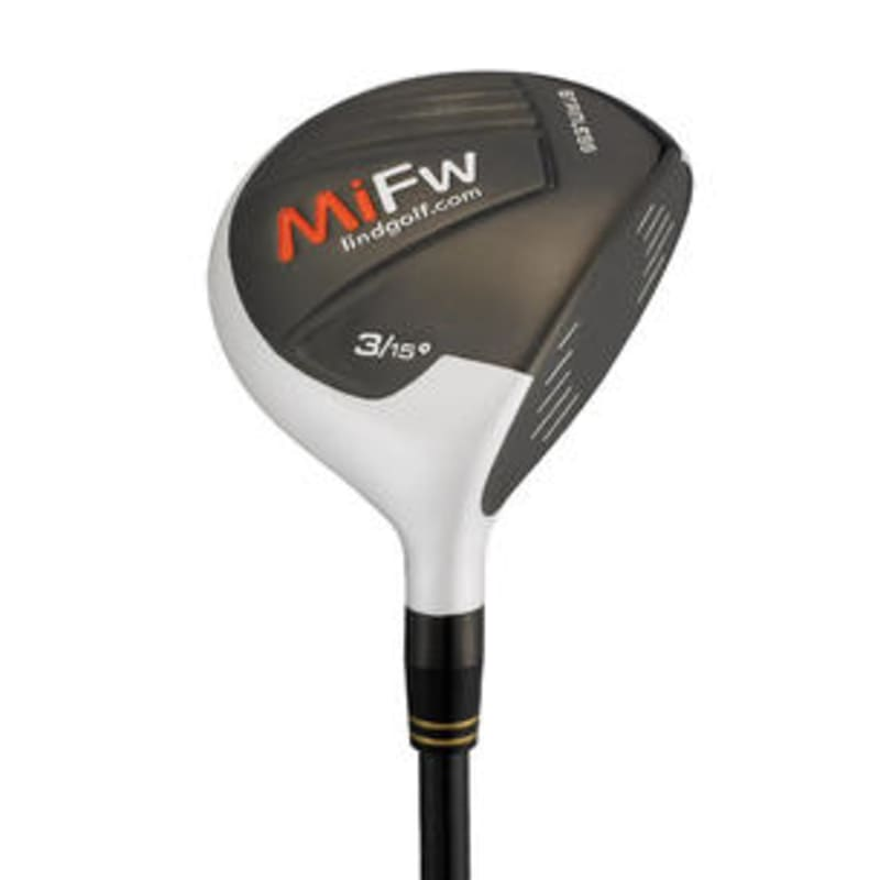 Lind Golf MiFw Fairway Wood - White #