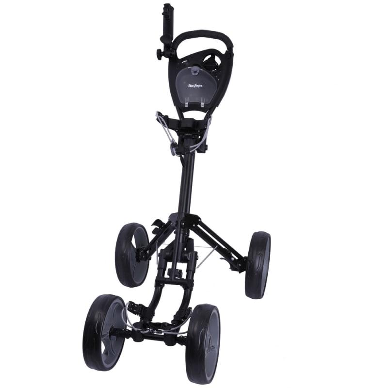 MacGregor Response Deluxe 4 Wheel Golf Cart - Black/Silver