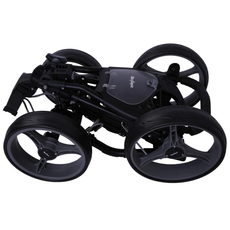 MacGregor Response Deluxe 4 Wheel Golf Cart - Black/Silver #