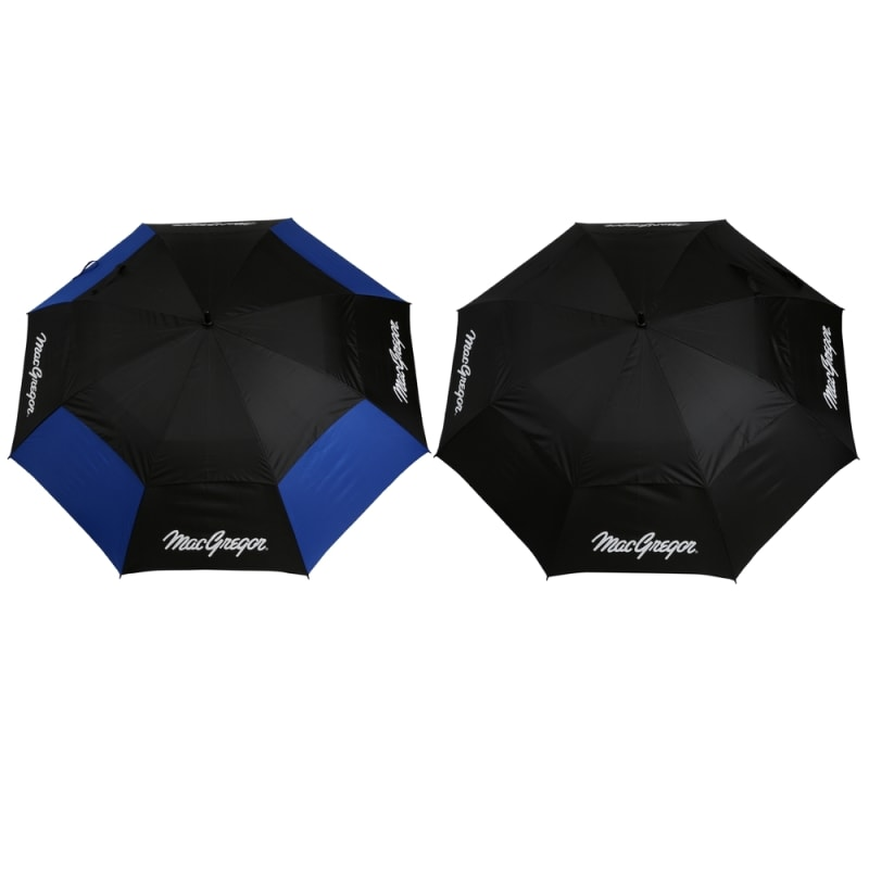 "2 PACK MacGregor Golf MacTec Dual Canopy Golf Umbrellas - Large 68"" /1.7m Arc #"