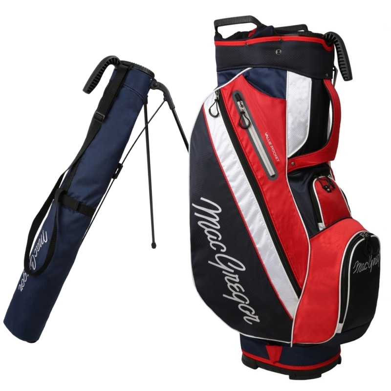 MacGregor Golf Tourney 2-in-1 Cart Bag with Removable Carry/Stand Bag #2