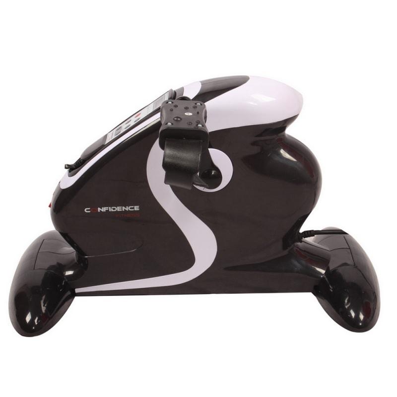 OPEN BOX Confidence Fitness Motorized Electric Mini Exercise Bike #1