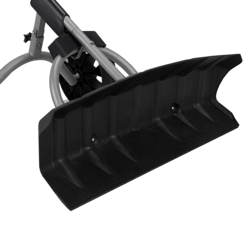 North Gear Heavy Duty Wheeled Dual Grip Snow Pusher / Snowplow #3