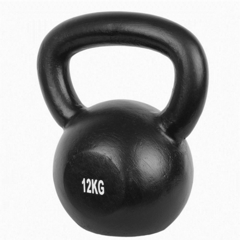 Confidence Pro 12kg Cast Iron Kettlebell Set