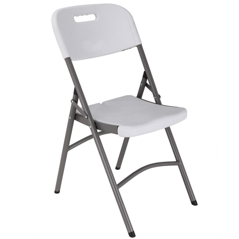 Palm Springs Commercial Folding Plastic/Steel Chairs – 4 PACK