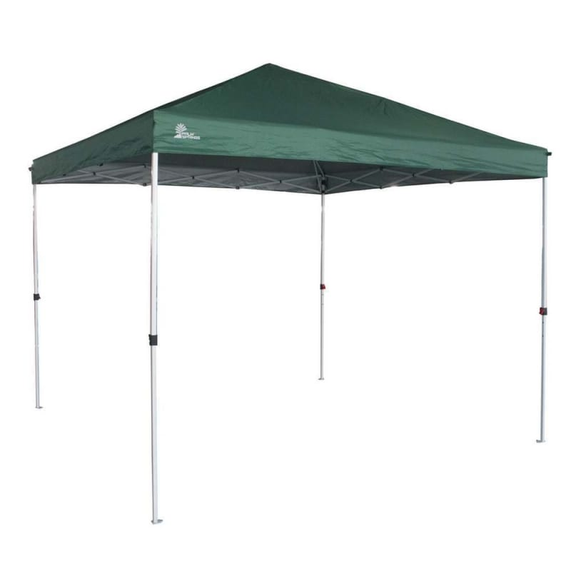 Ex-Demo Palm Springs Gazebo Tent Instant Pop-Up Shelter with Wheeled Carry Bag, 3x3M, Green