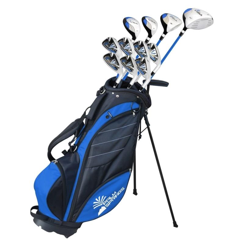 OPEN BOX Palm Springs Golf Visa V2 Mens Graphite/Steel Club Set & Bag