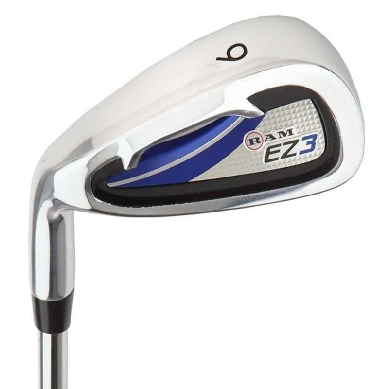 Ram Golf EZ3 Mens Left Hand Iron Set 5-6-7-8-9-PW - FREE HYBRID INCLUDED #2