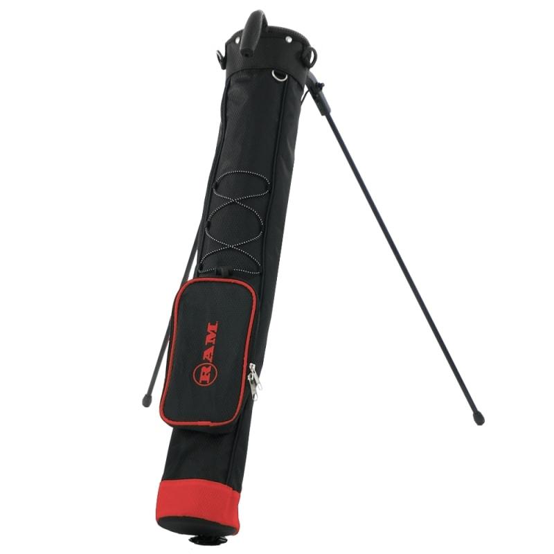 Ram Golf Pitch and Putt Lightweight Golf Carry Bag with Stand #
