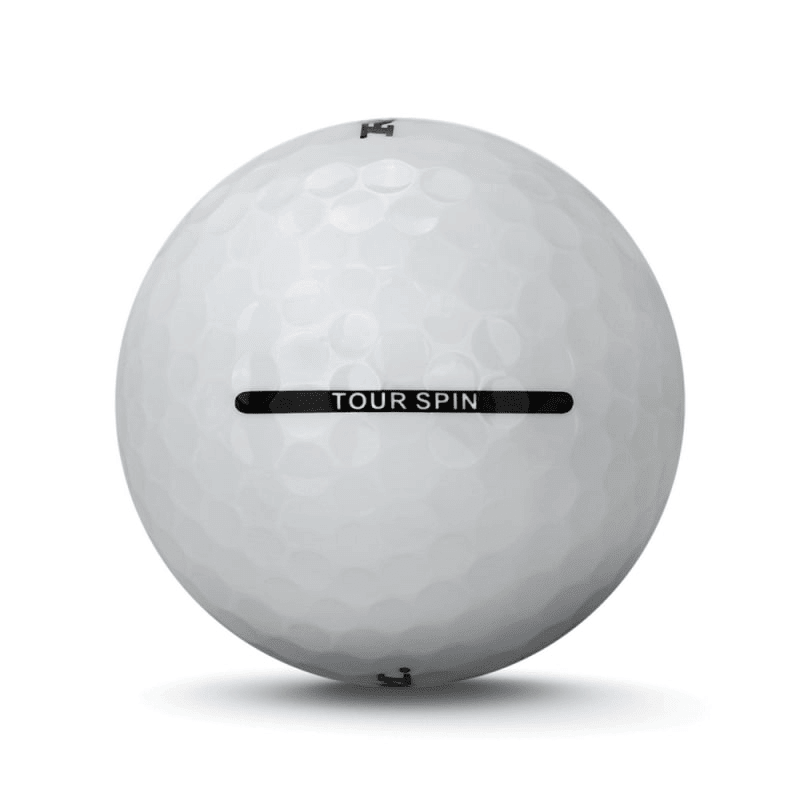 24 RAM Golf Tour Spin 3 Piece Golf Balls - White