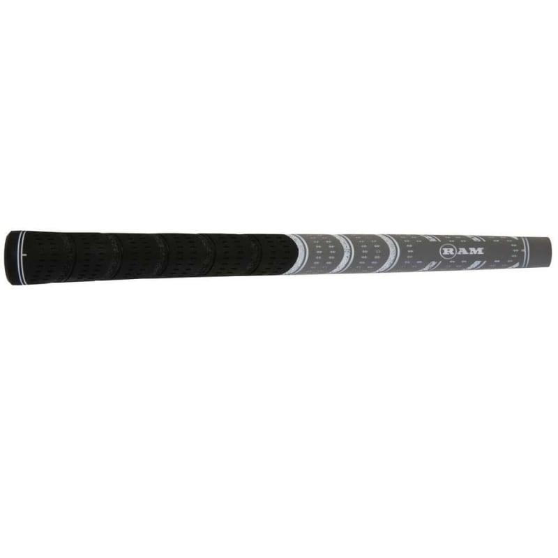 7 x Ram FX Standard Golf Grip- Black/Grey #