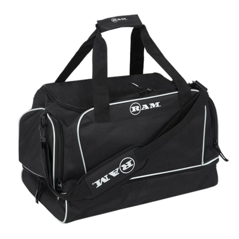 Ram Golf Duffel Bag / Gym Bag / Sports Holdall with Dedicated Shoe Compartment + Free Golf Shoe/Boot Bag #