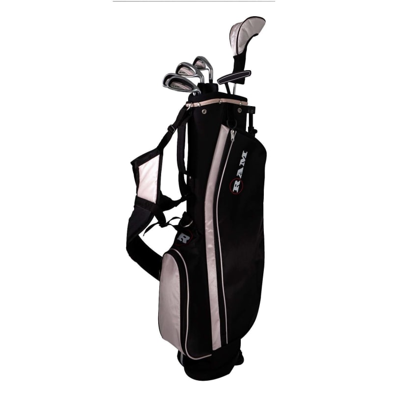 OPEN BOX Ram Golf SGS Ladies Golf Clubs Set with Stand Bag - Steel Shafts #