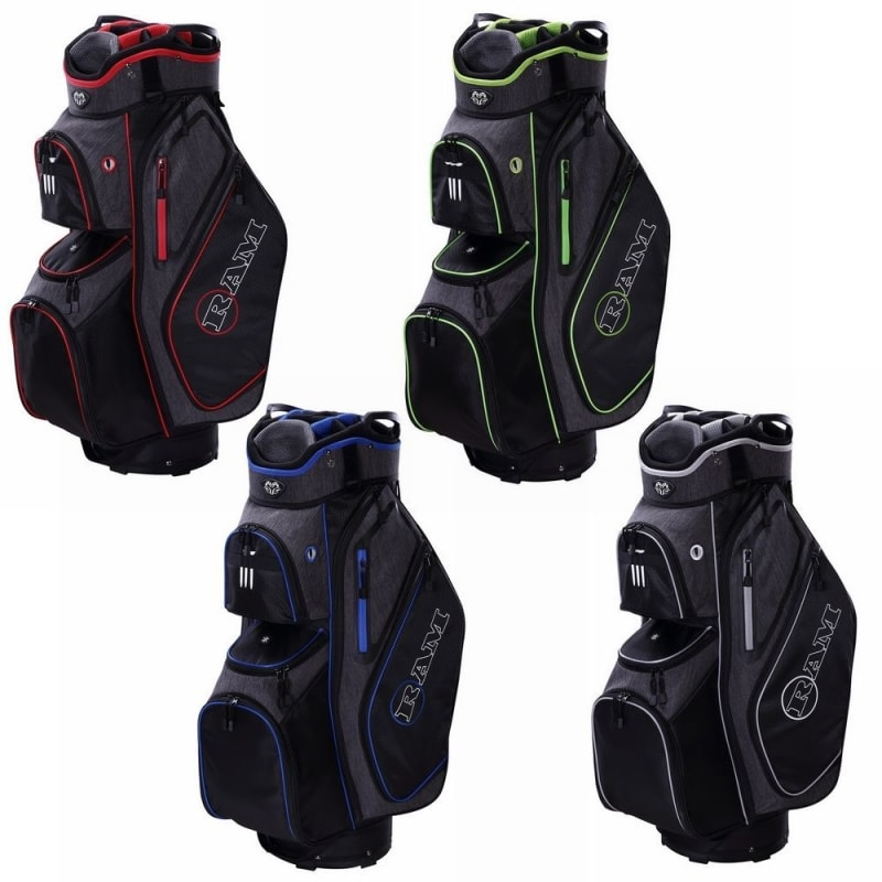 Ram Golf Tour Trolley Bag with 14 Full Length Dividers