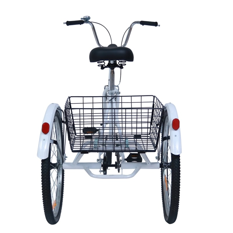 Royal London Adult Bromley Tricycle 3 Wheeled Trike Bicycle with Shopping Basket #7